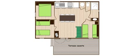 plan cottage 3 chambres