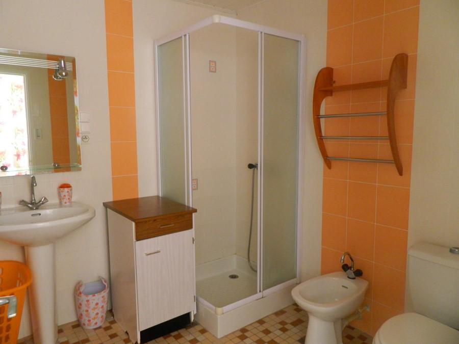 salle d'eau gite 2 chambres