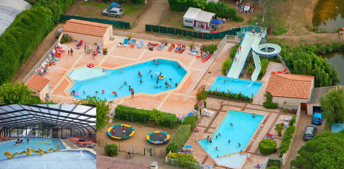 camping vendée piscine couverte