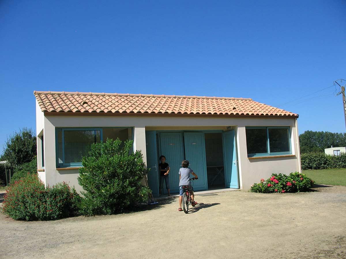 sanitaires du camping en Vendée