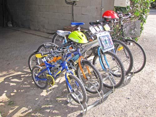 camping avec location de vélos
