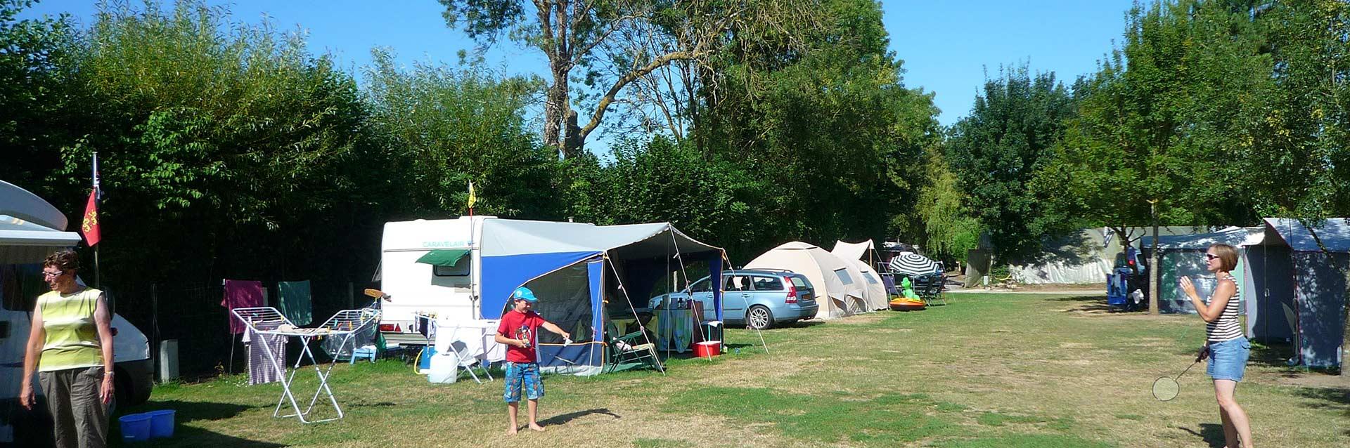 les emplacements de camping en Vendée