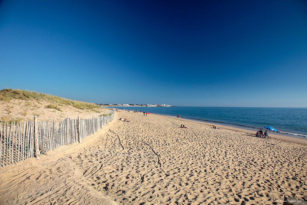 plage de Saint Hilaire de Riez Vendée