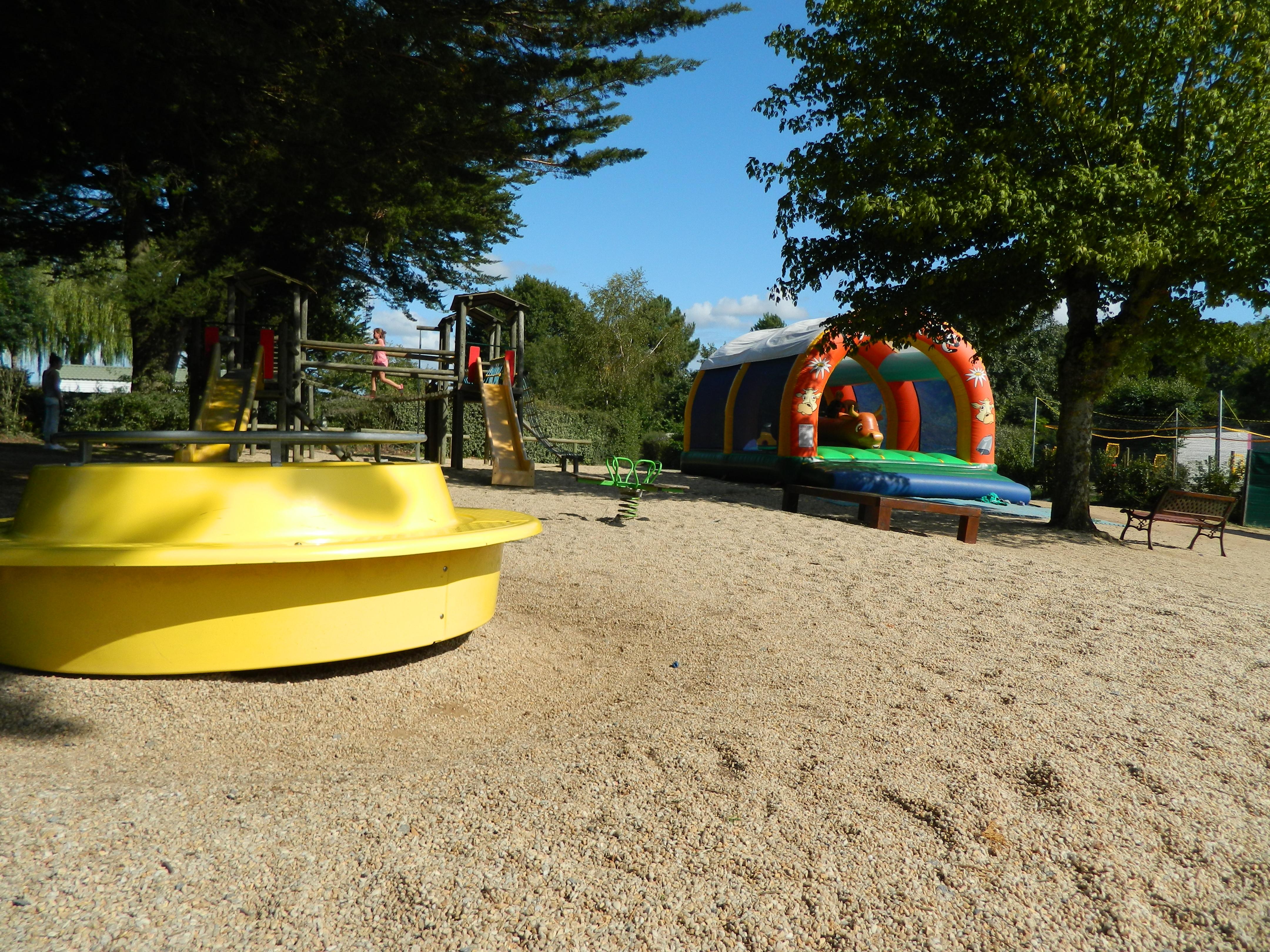 aire de jeux camping 3 étoiles