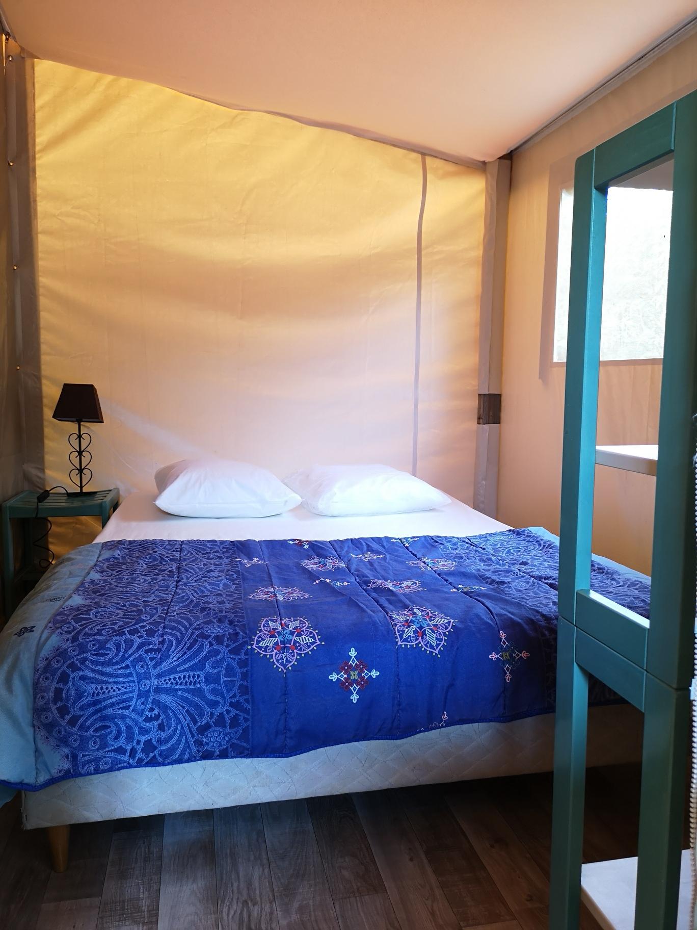 lodge bungalow toilée camping vendée