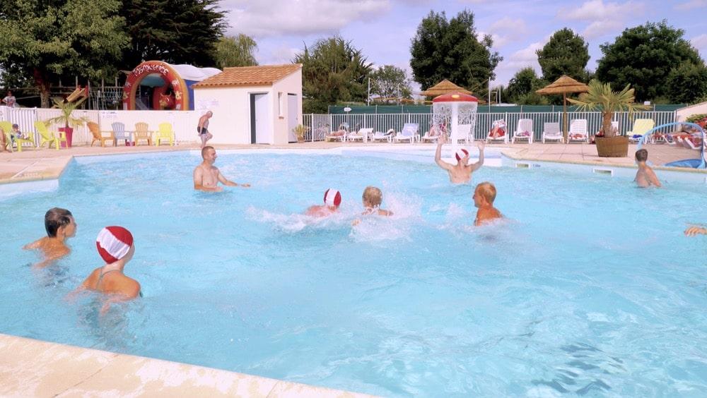 camping vendée avec piscine chauffée